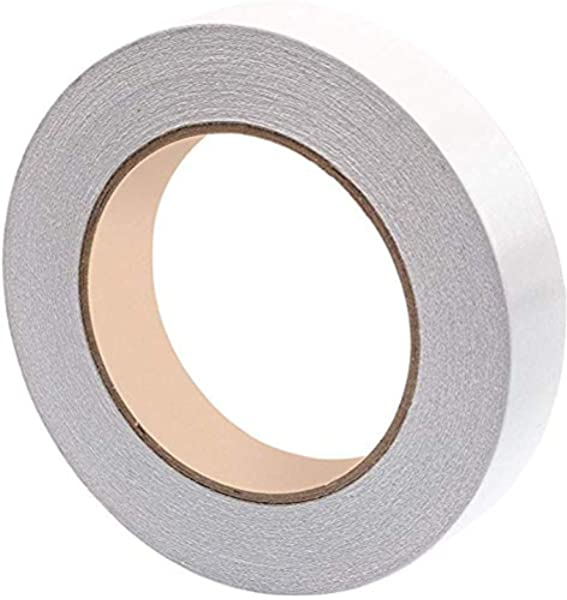 Strong Tough Pack of 6 Q-Connect Clear 25mm x 33m Double-Sided Adhesive Tape