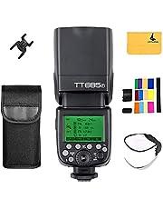 Godox Thinklite TT685F TTL 2,4 GHz GN60 HSS 1 / 8000s Draadloze Master Slave Camera Flash Speedlite Speedlight Compatibel met Fujifilm-camera's X-Pro2, X-T20, X-T2, X-T1; X-Pro1, X-T10 (TT685F)