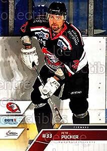 Petr Pucher Hockey Card 2011-12 Erste Bank Eishockey Liga EBEL #195 Petr Pucher
