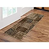 Better Homes and Gardens Animal Patchwork Runner Rug, 1'8'' x 5'