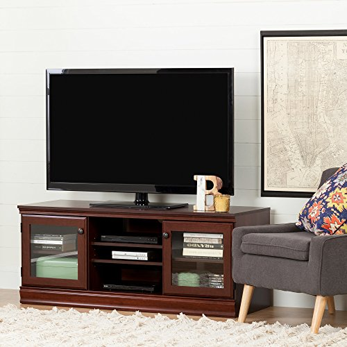 South Shore 10533 Morgan Stand for Tvs up to 75'', Royal Cherry Cherry Plasma Tv Stand