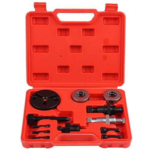 Compressor Pulley (Air Compressor Clutch Kit, AC Compressor Clutch Kit, Clutch Puller, Pulley Kit by Shankly)