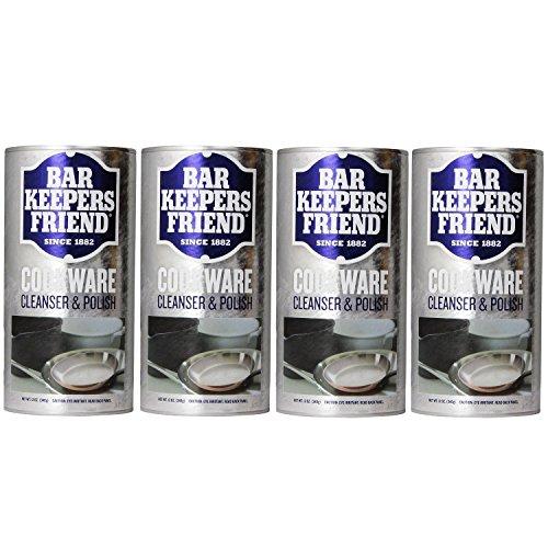 Bar Keepers Friend COOKWARE Cleanser & Polish Powder - 12 Oz