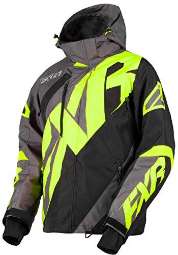 FXR CX Jacket Authentic DVS Thermal Dry Active Liner HydrX Snowmobile Snocross - Char/Black/Hi-Vis - XXX-Large - Large Snowmobiles Jackets