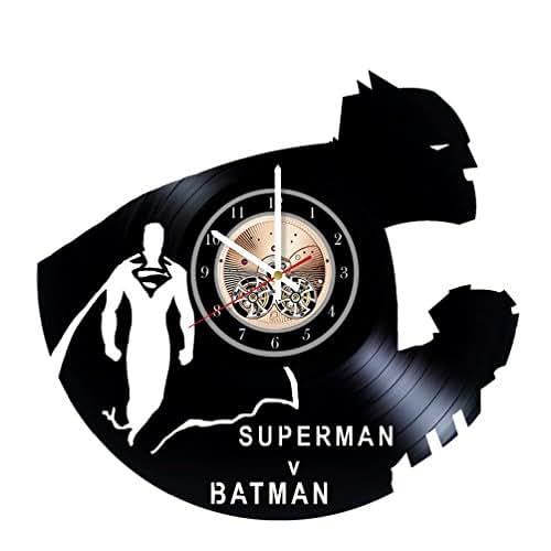 Unique Batman Vs Superman Bedroom Ideas That Rock: Amazon.com: Batman Vs Superman Unique Wall Clock For