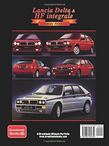 Lancia Delta & HF integrale Ultimate Portfolio: Amazon.es: Brooklands Books Ltd: Libros en idiomas extranjeros