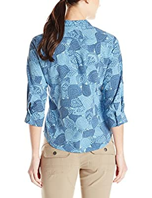 Royal Robbins Women's Expedition Stretch 3/4 Sleeve Print Top