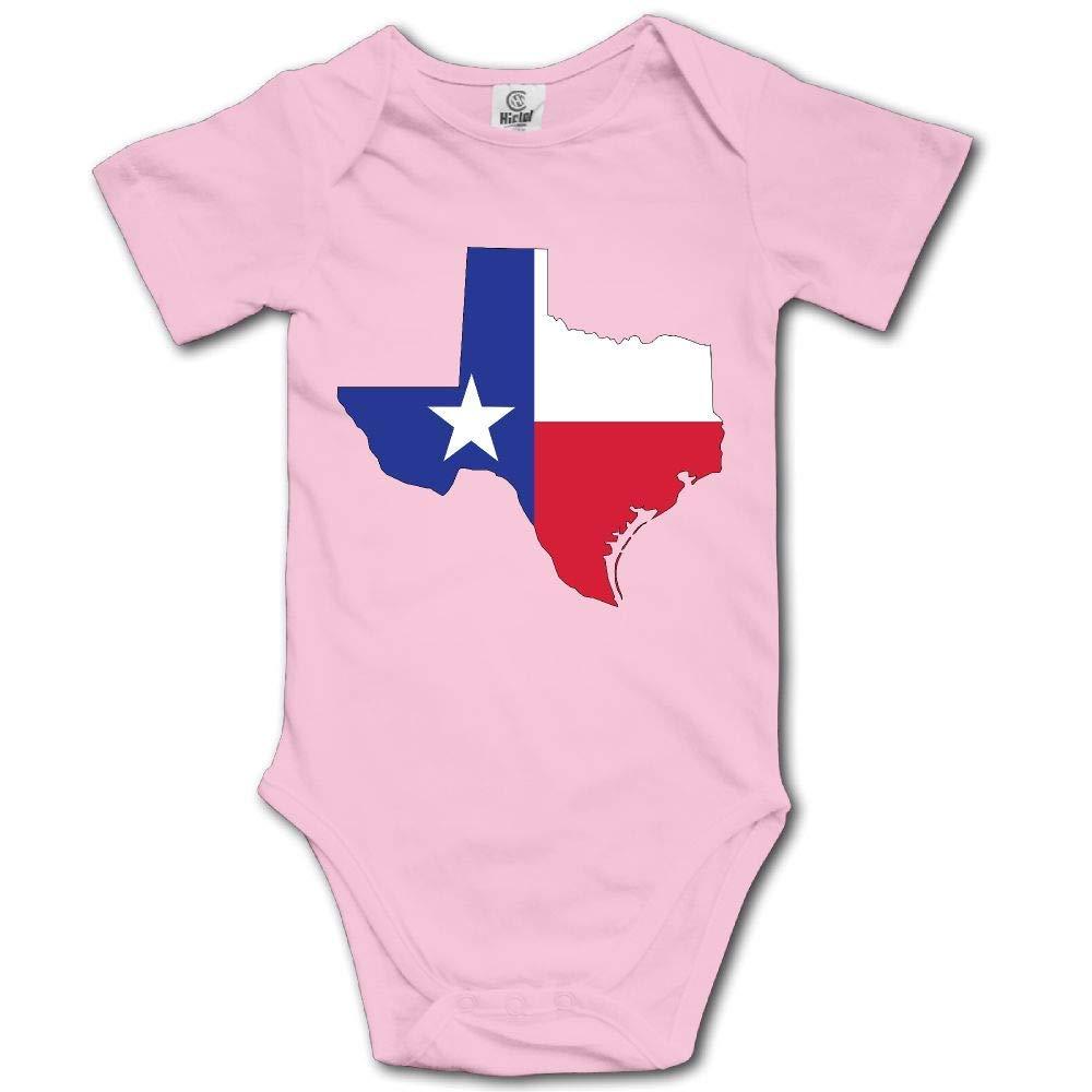 gineaqw Texas Flag Hip Hop Newborn Babys 0-24 Months Baby Climbing Clothing Baby Creeper Toddler Boys Girls