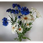 CB-Imports-Bunch-of-Artificial-Silk-Daisies-and-Cornflowers