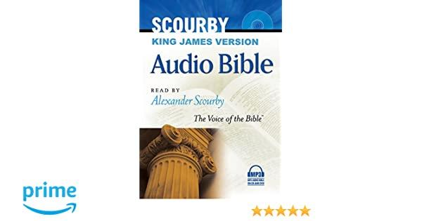 Scourby KJV Audio Bible, Mp3: Alexander Scourby