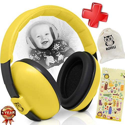 0117cb8b6e5 Noise Cancelling Baby Ear Protection Baby Earmuffs ~ Protect Infants and  Kids Hearing with Safe,