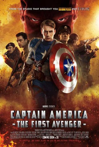 Captain America First Avenger Poster product image