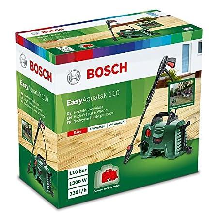 Bosch Hidrolimpiadora de Alta Presión EasyAquatak 110 (1300 W, 110 ...