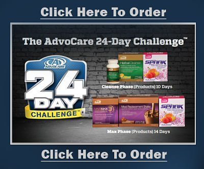 Advocare 24 Day Challenge Weight Loss Bundle (Max3)