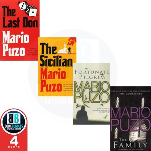 Mario Puzo 4 Books Collection Pack Set RRP: £33.3 (The Last Don, The Family, The Fortunate Pilgrim, The Sicilian)
