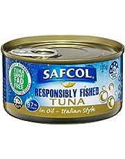 SAFCOL Tuna in Oil Italian Style 185g Can x 12