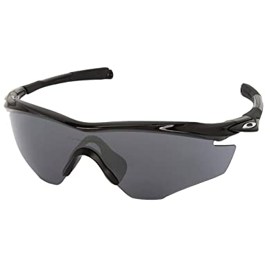 Amazon.com: Oakley M2 Frame Non-Polarized Iridium Shield Sunglasses ...