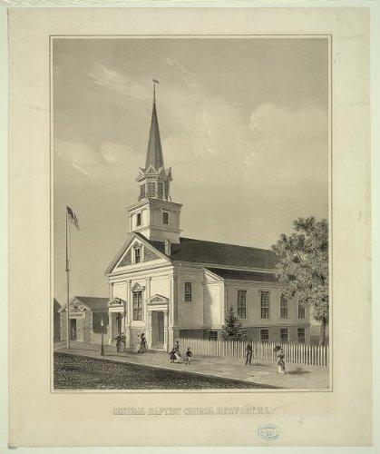 Photo: Central Baptist Church,Newport,R.I.,Rhode Island,Aquidneck - Newport Ri In Shopping