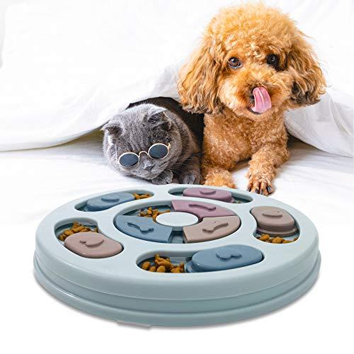 AidSci Hundespielzeug Intelligenz Hundefutter Welpenspielzeug,Verlangsamen Sie das Essen von Hundespielzeug,Anti-Rutsch…