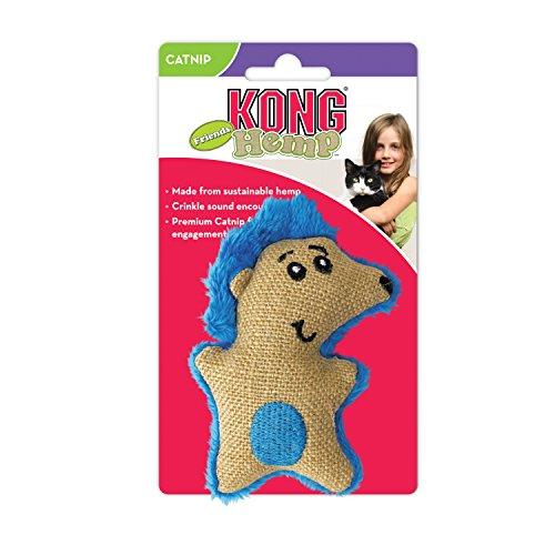 - KONG Cat Hemp Friends Catnip Crinkle Sound Roll Scratch Pet Interactive Play Toy