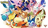 Playmat/Mouse Pad: Eeveelutions 01