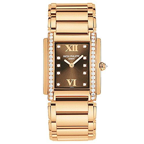 y-4 Medium Rose Gold with Diamonds 4910/11R-010 (Patek Philippe Rose Gold)