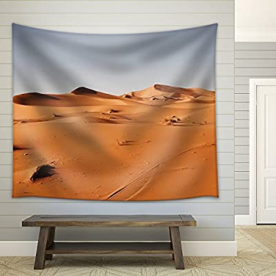 Untraveled Desert Fabric Wall Small