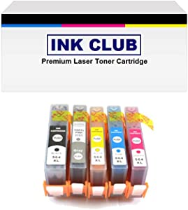 Remanufactured Ink Cartridge Replacement for HP 564XL combo pack-1 Black/1 Photo Black/1 Cyan/ 1 Magenta/1 Yellow