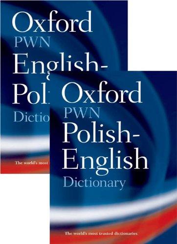 Oxford-PWN Polish-English English-Polish Dictionary: 2-Volume Set