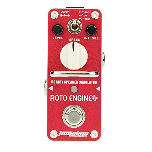 Tomsline ARE-3 ROTO ENGINE Phaser Vibe Chorus Guitar Mini Analogue Effect Pedal