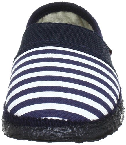Unlined house shoes 39 10 Dk low 44027 Boys 548 Blue Blue Giesswein xw6nq4Iq