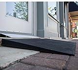 EZ Access Rubber Threshold Ramp - 42'' Wide x 24'' Long x 2½'' High - A14993 02