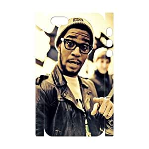 Diy Kid Cudi 3D Cell Phone Case, DIY Durable Cover Case for iPhone 5/5G/5S Kid Cudi