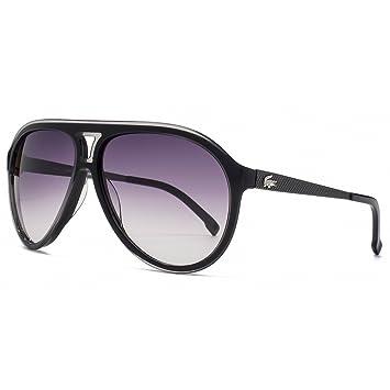 452dfbc5894d Lacoste Plastic Aviator Sunglasses in Black - L694S 001 59  Amazon ...