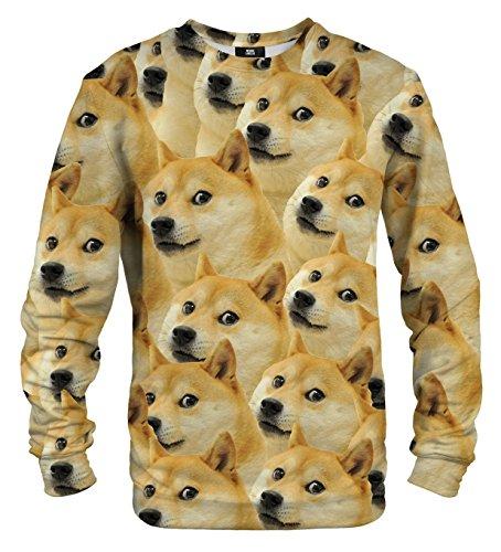 Mr Gugu & Miss Go Homme Femme Imprimé Sweatshirt Doge