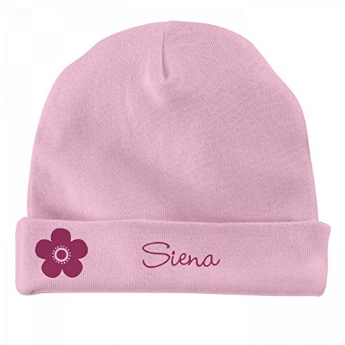 FUNNYSHIRTS.ORG Baby Girl Siena Flower Hat: Infant Baby (Siena Hat)
