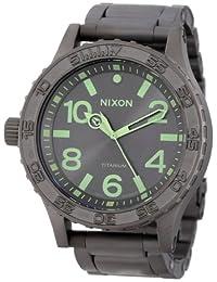 Nixon - Mens Analog 51-30 Ti Watch in Color: All Gunmetal / Lum