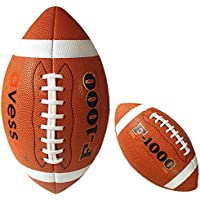Avessa B 4006 PU B 4006 PU Profesyonel Amerikan Futbol Topu Pu Deri Unisex, kahverengi, m