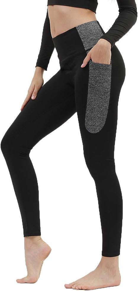 Amazon.com: Kipro - Pantalones de yoga con bolsillos para ...