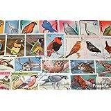 Motives 100 différents Oiseaux marches (Timbres pour les collectionneurs)