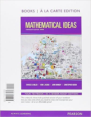 Amazon mathematical ideas books a la carte edition mathematical ideas books a la carte edition 13th edition fandeluxe Gallery