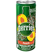 Perrier Peach Flavored Sparkling Mineral Water, 8.45 fl...