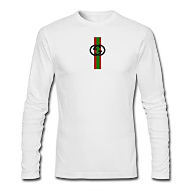 5e8c797f5c5 Gucci Mens Printed Long Sleeve T Shirts  Amazon.co.uk  Clothing