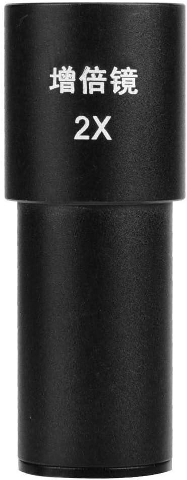 23.2mm Biological Microscope Eyepiece 2X Ocular Optical Lens Mounting Black Gavita-Star