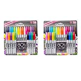 Sharpie Fine-tip Permanent Marker, Assorted Colors (2 Packs of 24)