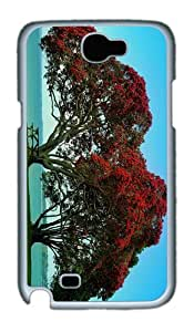 fashion cover Twin Trees PC White case/cover for samsung galaxy N7100/2