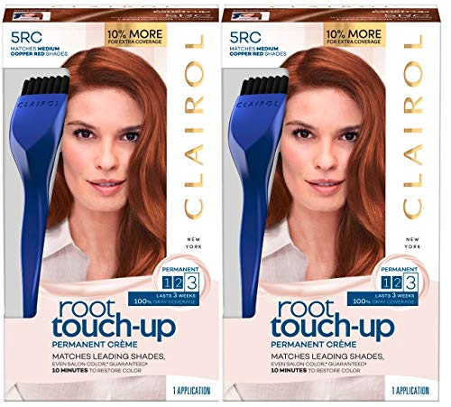 Clairol Nice N' Easy Root Touch Up, 005rc, Medium Copper Red, 2 Count
