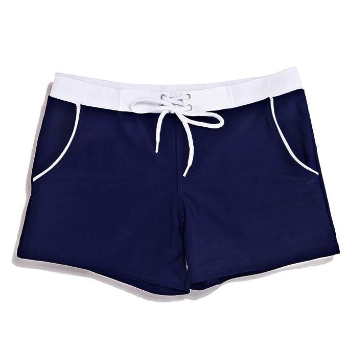 77126cc75e8c Zolimx Costume da Bagno Uomo, Sexy Costumi da Bagno Moda Nuoto Tronchi Slip  Spiaggia Pantaloncini Uomo Sottopant,Costumi da Bagno Uomo Slip: Amazon.it:  ...