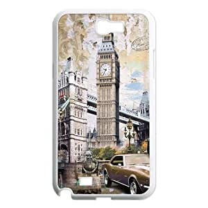 Custom Big Ben Hard Back Cover Case for Samsung Galaxy Note 2 NT60