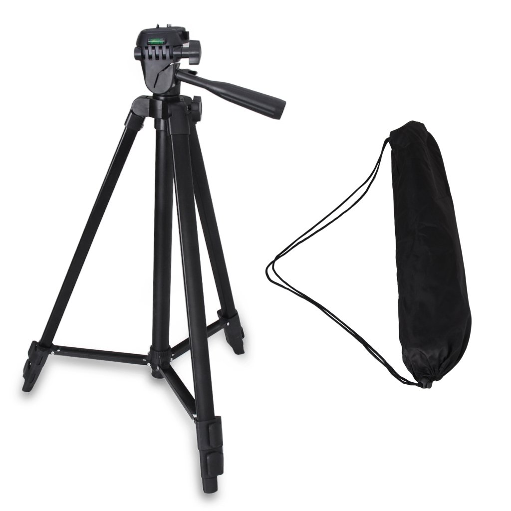 Professional Camera Tripod Mount Holder Stand for Logitech Webcam C930 C920 C615-Black by Acetaken